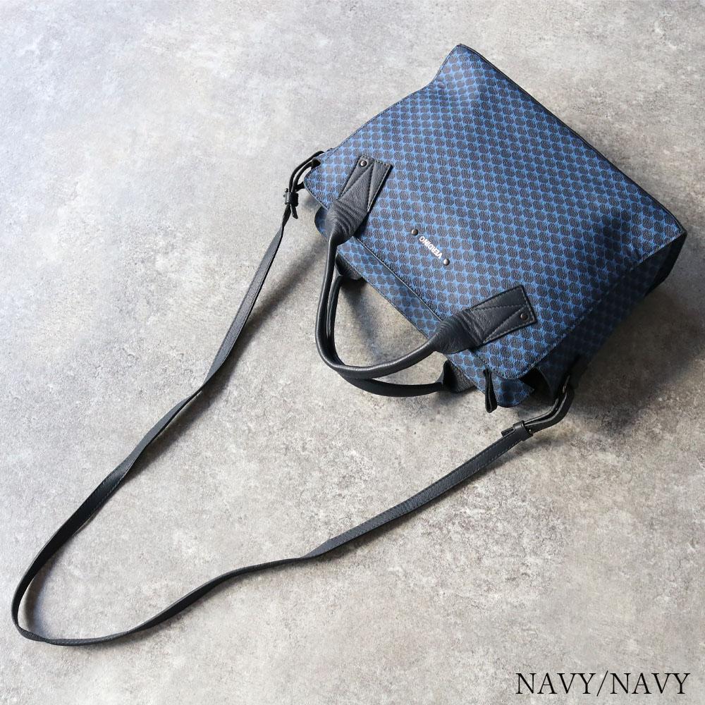 [2Color]VERDINO Hexagone Lady Bag [フランス製] ショルダー/ハンドバッグ [2wayショルダー付き]