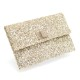 ANYA HINDMARCH VALORIE�-GLITTER FABRIC [並行輸入品] クラッチバッグ [PALE GOLD]
