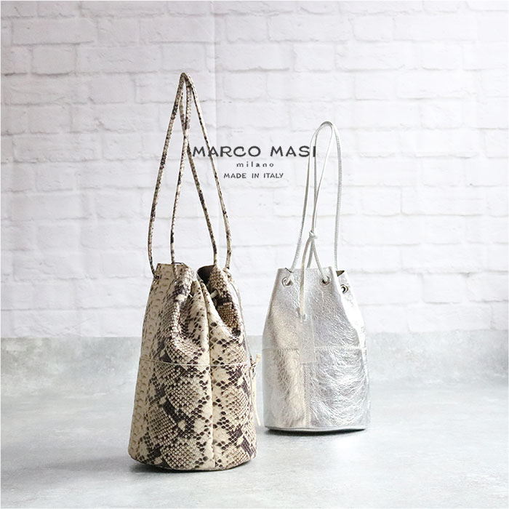 MARCO MASI MILANO 3013 [イタリア製] バケツ型バッグ