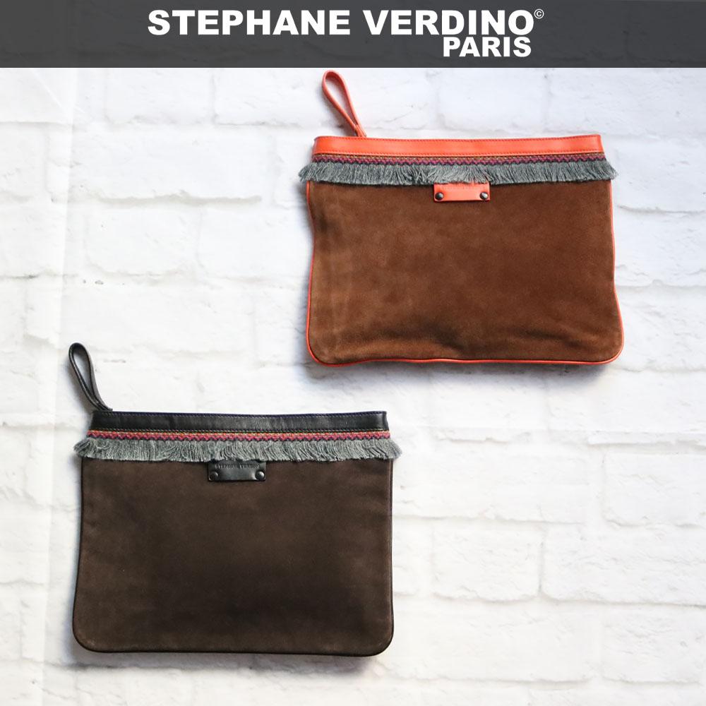 STEPHANE VERDINO [正規品 ]LIMA MAXI POCHTTE [フランス製] ポーチ/クラッチバッグ