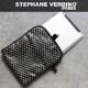 STEPHANE VERDINO HEXAGONE  IPAD CASE [フランス製] iPadケース (ブラック/ホワイト)
