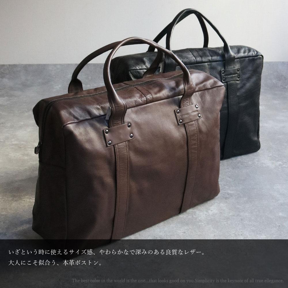 STEPHANE VERDINO [正規品 ]MOUSSE 48H [フランス製] トートバッグ [ジップ付き] XL 本革