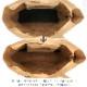 [ファスナー開閉]andrea cardone 2065/D Leather bag sfoderata metal M [イタリア製] トートバッグ-M