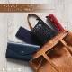 [ファスナー開閉]andrea cardone 2065/D Leather bag sfoderata M [イタリア製] トートバッグ-M
