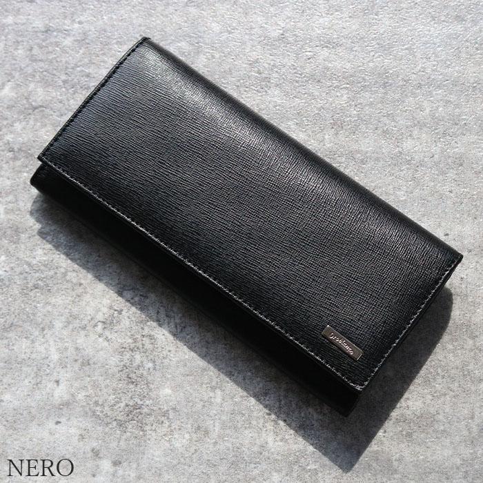 [完全オリジナル]OROBIANCO KRYBBIO RY-L SAFFIANO OLI-ZEUS [イタリア製] 長財布