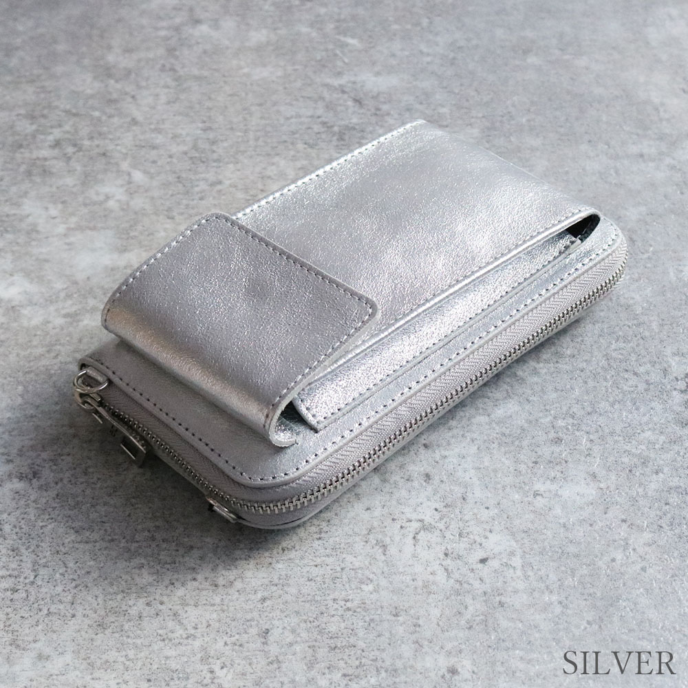 [3Color]andrea cardone M600 [Italy] 2way ポーチ財布