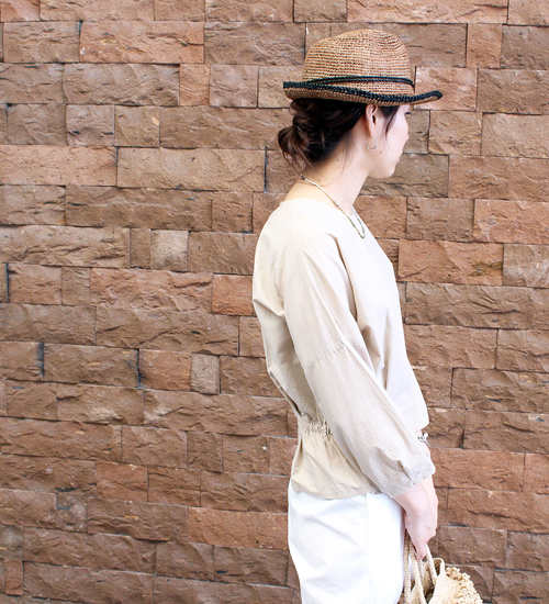 《SALE》【Lisette/リゼッタ】コットンブラウス・ピア【キャンセル返品交換不可】