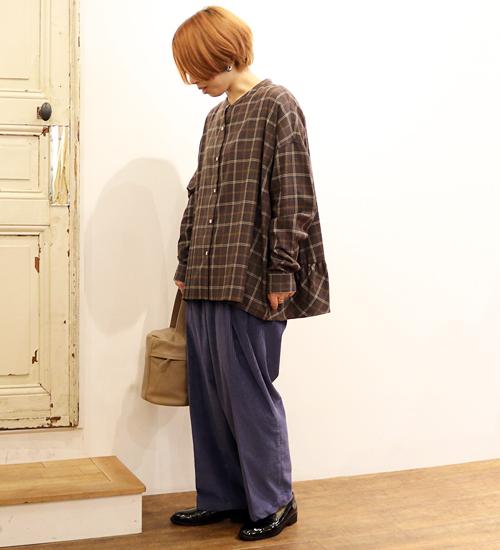 【nicholson and nicholson/ニコルソンアンドニコルソン】コーデュロイ9分丈パンツ・BASS-CORD