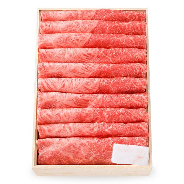 (OKSK-100) 黒毛和牛すき焼き用 (肩・もも) 700g [化粧箱入り]【冷蔵便】