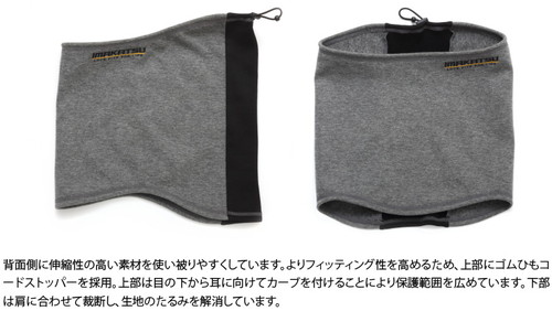 IK-870 3LAYER WIND PROTECT HEAT NECK WARMER
