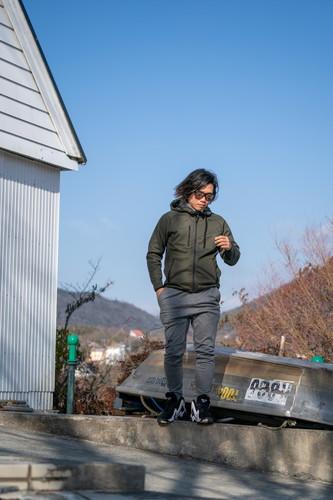 【SETUP】 3LAYER WIND PROTECT HEAT ZIP HOODIE & PANTS