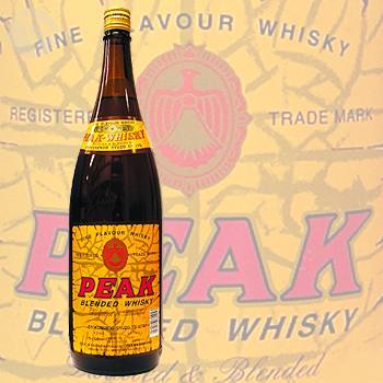 ≪地ウイスキー≫ PEAK WHISKY 1800ml :ピーク ウイスキー