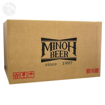 【箱のみ】箕面ビール専用化粧箱 24本用