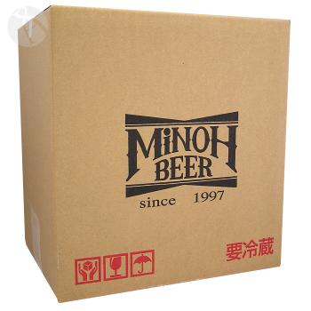 【箱のみ】箕面ビール専用化粧箱 12本用