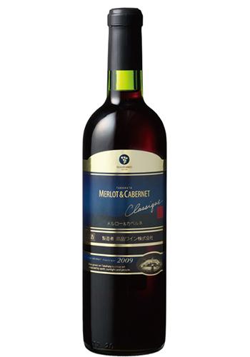 ≪ワイン・赤≫<br>高畠クラシック メルロ&カベルネ 720ml