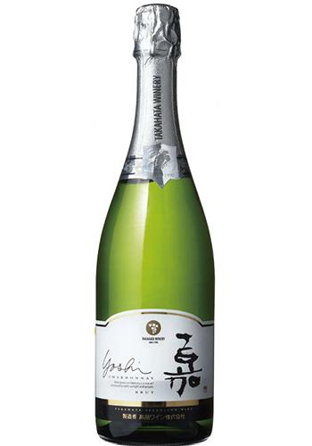 ≪ワイン・白泡≫<br>嘉(yoshi) スパークリング シャルドネ 750ml
