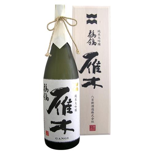 雁木 純米大吟醸 鶺鴒 せきれい 1800ml 化粧箱入り がんぎ