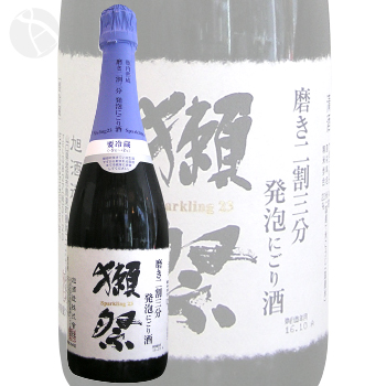 獺祭 磨き二割三分 にごり酒 スパークリング 720ml だっさい 旭酒造 山口県