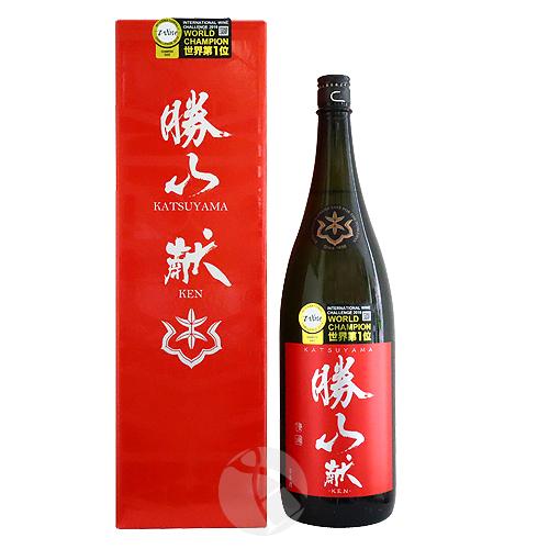 勝山 純米吟醸 献 -KEN- 1800ml かつやま けん
