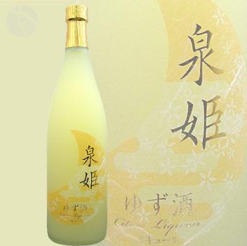 泉姫 ゆず酒 720ml