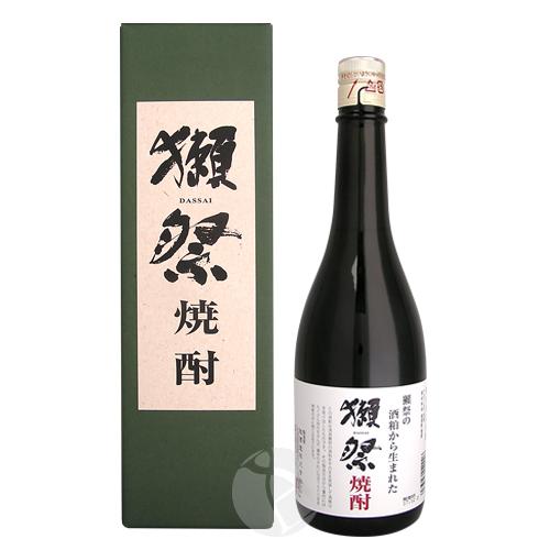 獺祭 焼酎 39度 720ml だっさい 専用化粧箱付 旭酒造 米焼酎 山口県