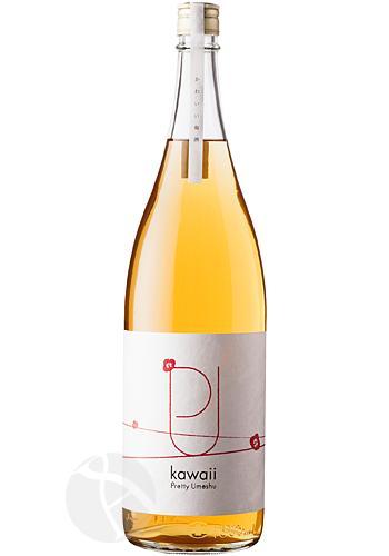 プリティー梅酒 kawaii 茘枝 1800ml :かわいい ライチ
