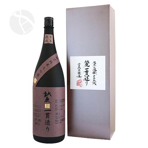 秋鹿 純米大吟醸 一貫造り 10年熟成 火入 1800ml あきしか