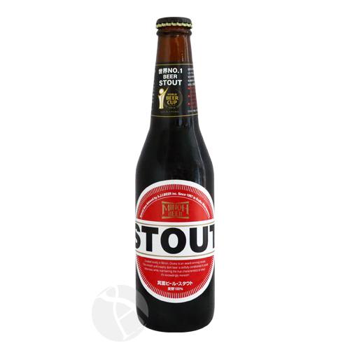 【クール便配送】≪地ビール≫ 箕面ビール スタウト 330ml
