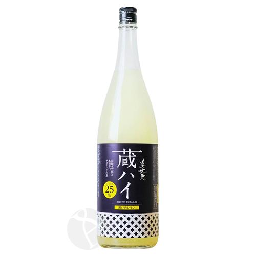 ≪リキュール≫ 美丈夫 蔵ハイ 瀬戸内レモン 1800ml