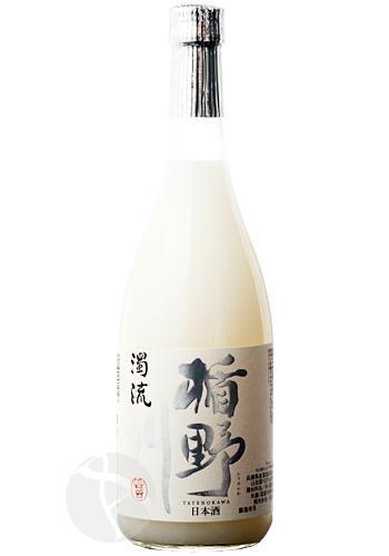 楯野川 純米大吟醸 濁流 生酒 720ml 【23BY】:たてのかわ だくりゅう