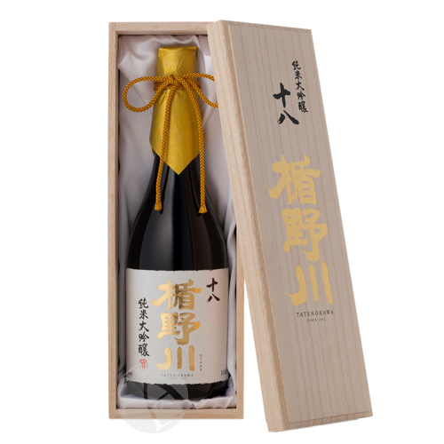 楯野川 純米大吟醸 十八 720ml 桐箱入り たてのかわ
