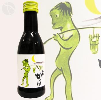 レトロラベル瓶 米鶴 かっぱ 純米酒 180ml