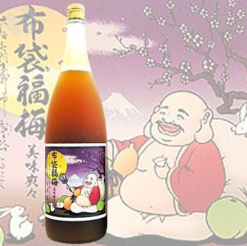≪梅酒≫ 布袋福梅 1800ml ほていふくうめ