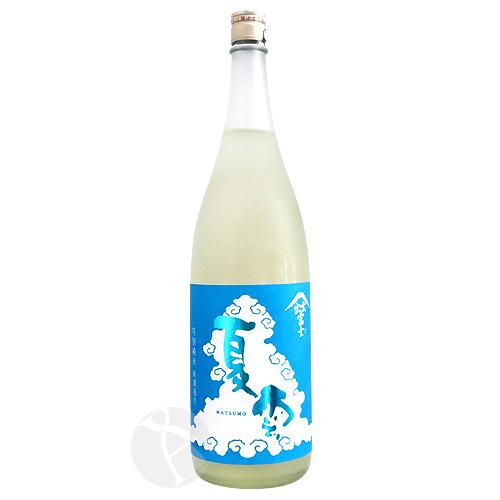 出雲富士 特別純米 生原酒 夏雲 Natsumo 1800ml なつも