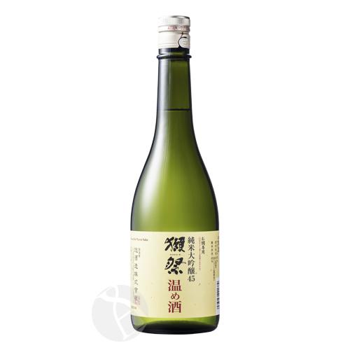 獺祭 純米大吟醸 45 温め酒 720ml だっさい