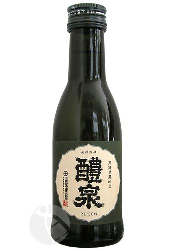レトロラベル瓶 醴泉 純米吟醸 180ml :れいせん
