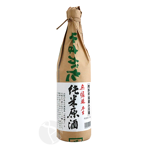 羽陽男山 純米原酒 無濾過 生酒 720ml うようおとこやま