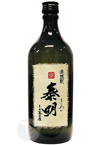 泰明 原酒 36度 720ml :たいめい