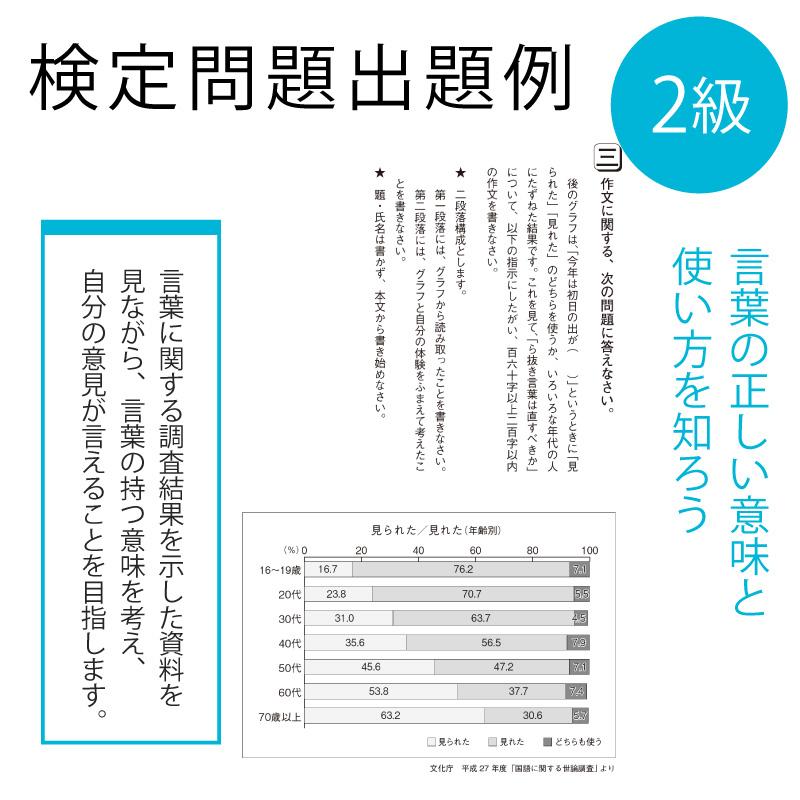 作・文・検 受検申込2級