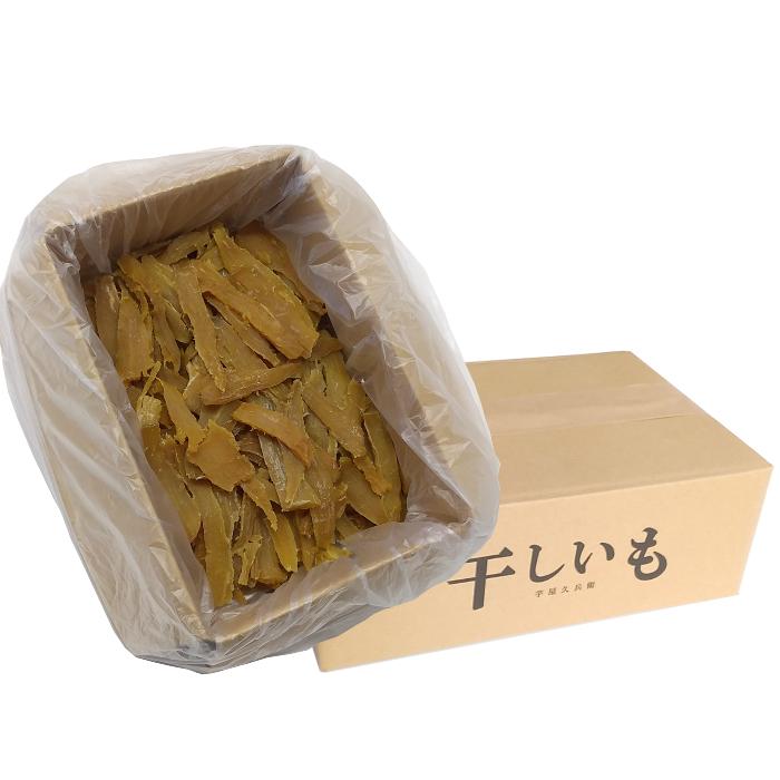 茨城県産 干し芋 紅はるか 切甲(切り落とし) 1kg箱入り