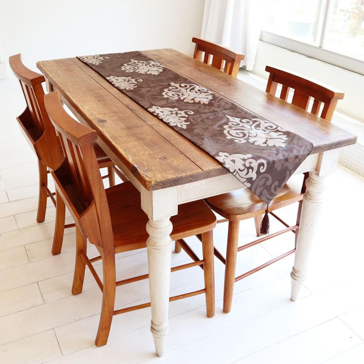 テーブルランナー ブラウン (コーヒー)