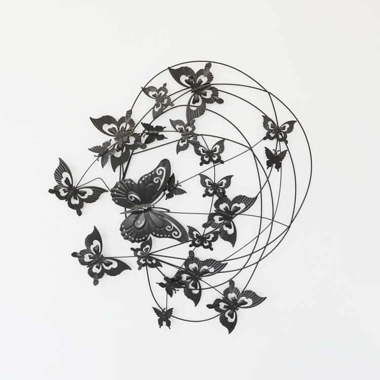 壁 インテリア おしゃれ | 壁掛けインテリア ウォールアート蝶