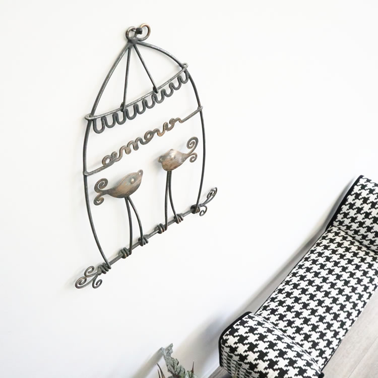 壁掛けインテリア ウォールデコレーション鳥B