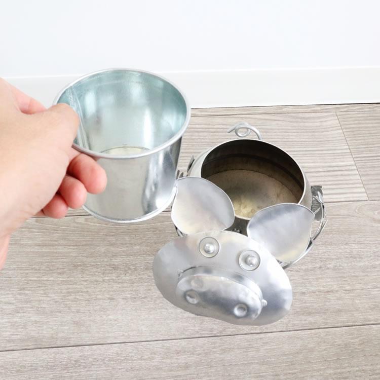 鉢カバー プランター ブタ