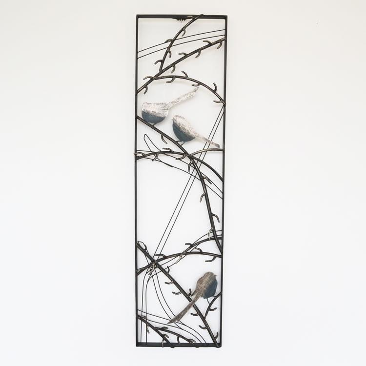 壁掛けインテリア ウォールアートパネル鳥B