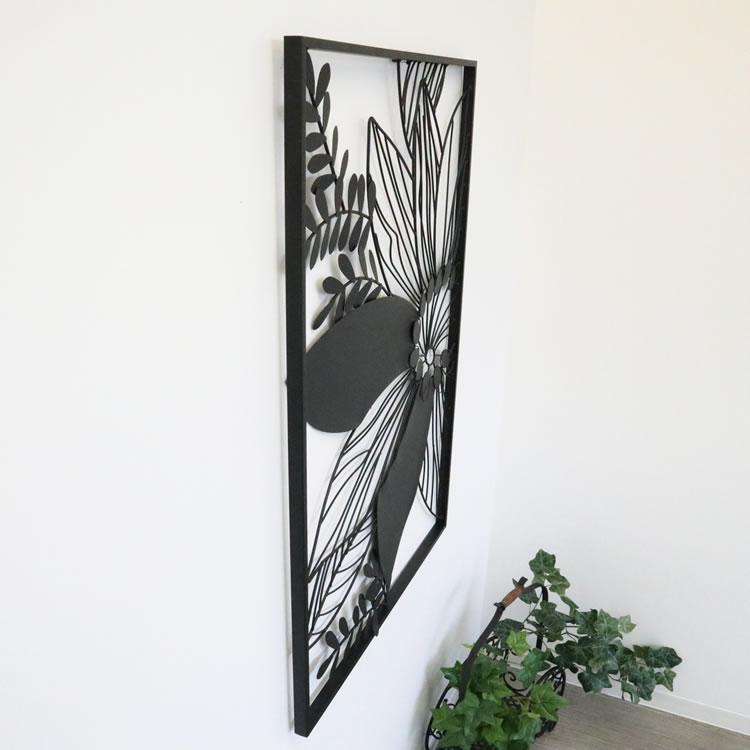 壁掛けインテリア ウォールアートパネルモノトーンC