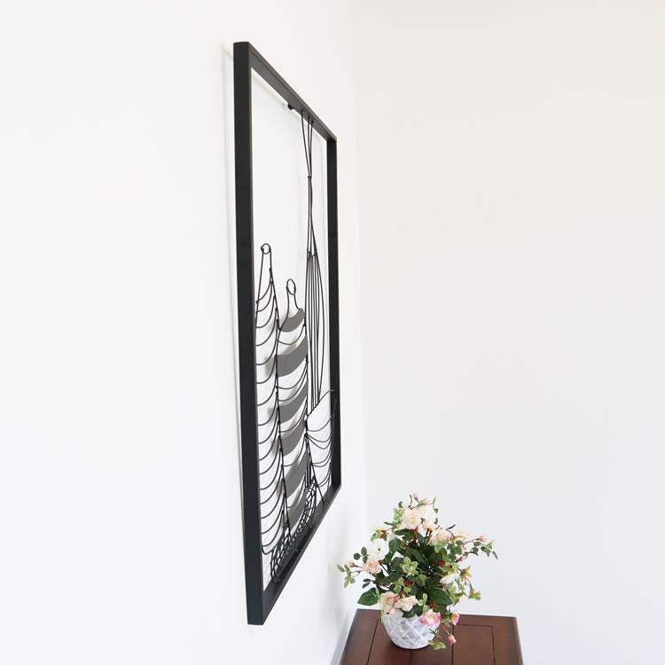 壁 インテリア おしゃれ | 壁掛けインテリア アートパネルモノトーンB