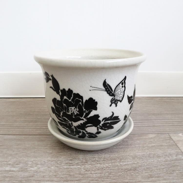 ミニプランター フラワーベース 花瓶 ブラックローズ