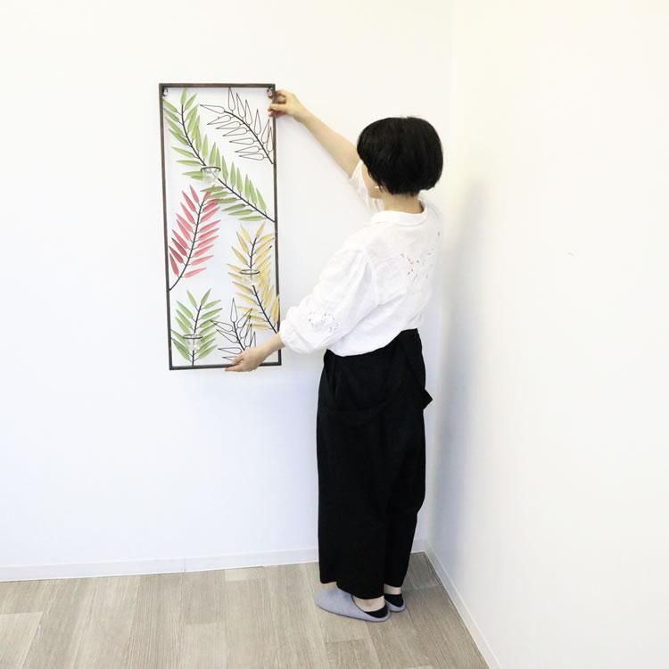 壁掛けウォールキャンドルホルダー 壁飾り