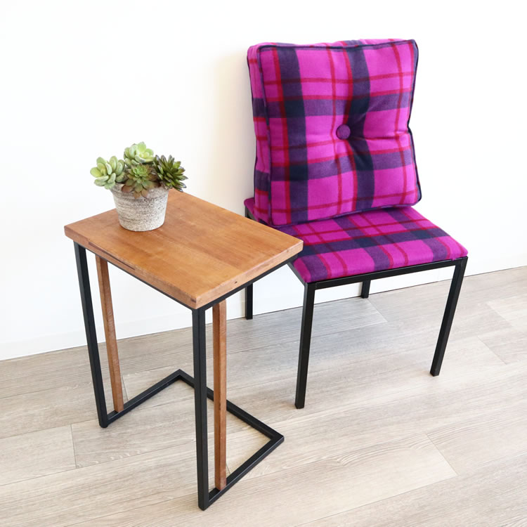 輸入家具 インテリア雑貨 シンプルサイドテーブル 小型